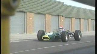 Tiff Needell tests the Lotus 49.