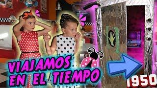 Viajamos AL PASADO en mi MAQUINA DEL TIEMPO 📆 Los juguetes de Arantxa