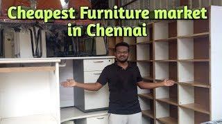 Cheapest Furniture market in Chennai II குறைந்த விலையில் வீட்டு உபயோக சாமான்கள் II Pravs Talks