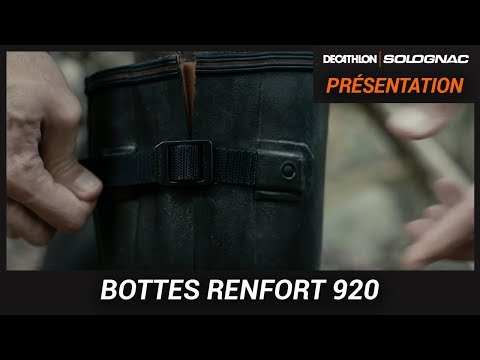 BOTTES DE CHASSE AVEC SOUFFLET : MODÈLE RENFORT 920 SOLOGNAL