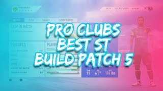 FIFA 19 PRO CLUBS BEST STRIKER BUILD & TRAITS + TIPS | After Patch 1.06 | 92 Max Overall