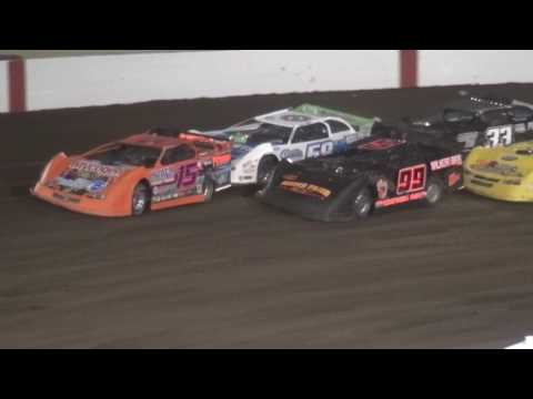 IMCA Derry Brothers Late Model Summer Series feature Farley Speedway 4/21/17