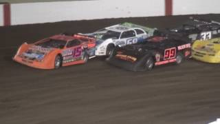 IMCA Late Model Feature | Farley Speedway 4/21/17