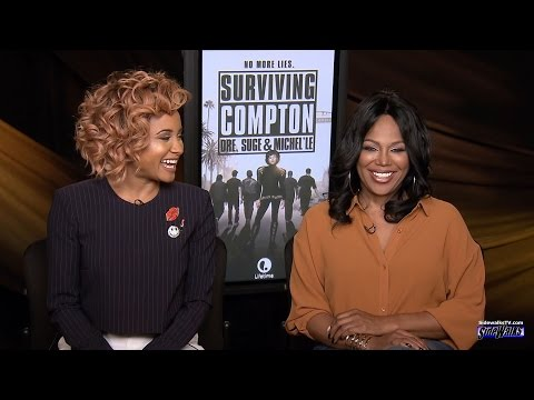 Rhyon Nicole Brown and Michel'le talk about film Surviving Compton