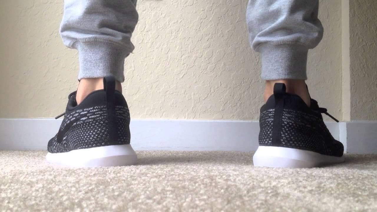 Nike Flyknit Roshe Run Black
