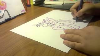 ♥Как рисовать пони Принцессу Твайлайт.♥(Сегодня мы рисуем пони Принцессу Твайлайт. =), 2014-07-21T20:43:16.000Z)