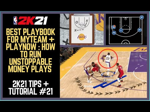 NBA 2K21 Best Playbook : OP Money Plays with Best Playbook for MyTEAM 2K21. How to Run Plays #21