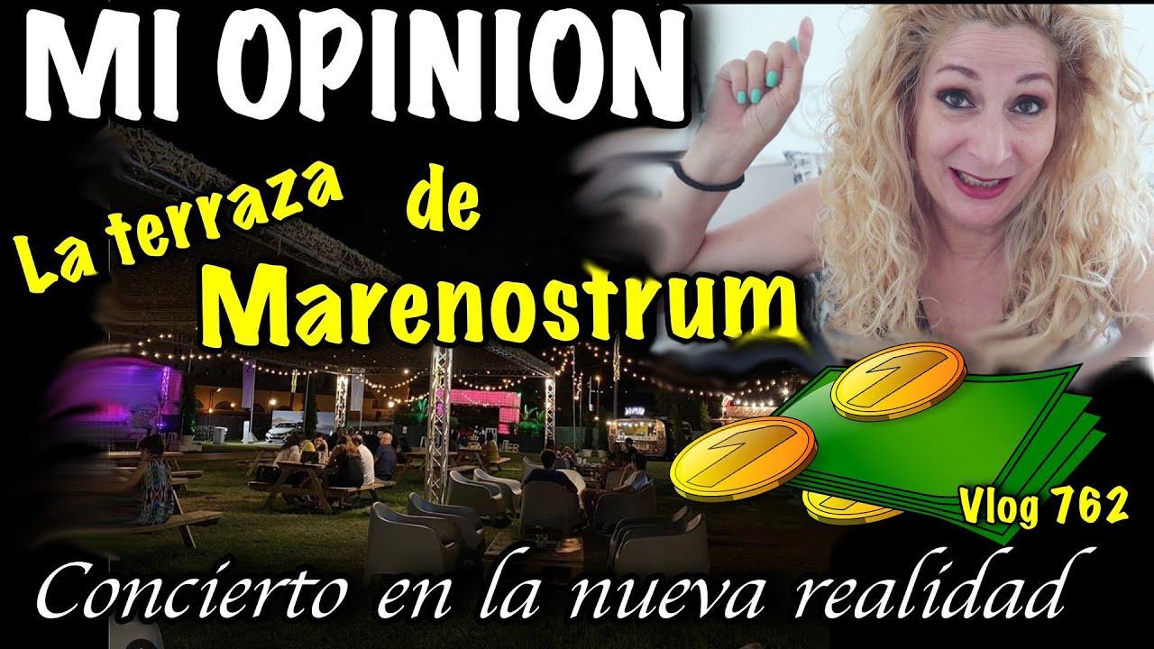 La terraza de Marenostrum MI OPINION/ Desastre en mi cocina Vlog 762 Alicia Cuenta