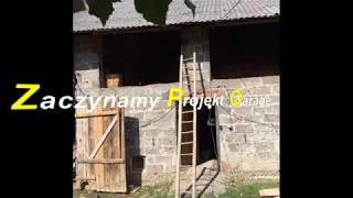 Remont garażu przebudowa stodoły na garaż