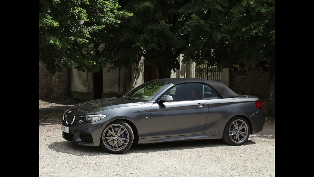 essai bmw m235i cabriolet bva8 2015 youtube. Black Bedroom Furniture Sets. Home Design Ideas