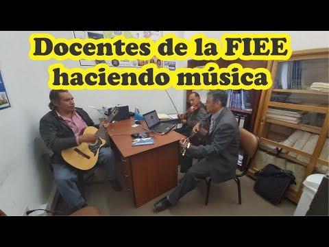 Docentes FIEE Haciendo Música. UNCP