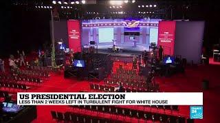 Trump, Biden prepare for muted final debate