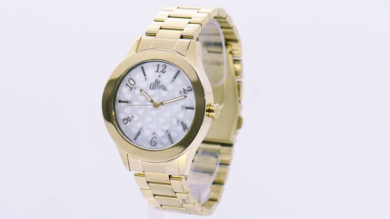8c3b14d81efc8 Relógio Allora Feminino AL2035IO 4B - Eclock - YouTube