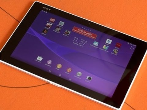 Sony's Xperia Z2 tablet is super-skinny but searingly powerful