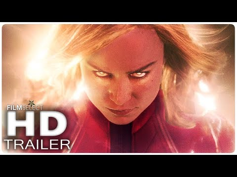 CAPTAIN MARVEL Trailer Italiano (2019)