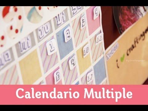Pizarra Ecologica: Calendario + Corcho + Pizarrón