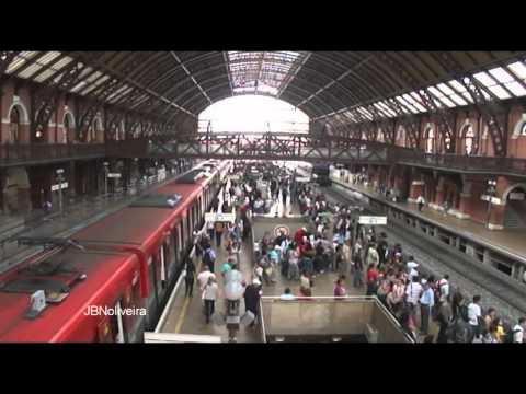 Estação de trem da Luz-São Paulo-Brasil
