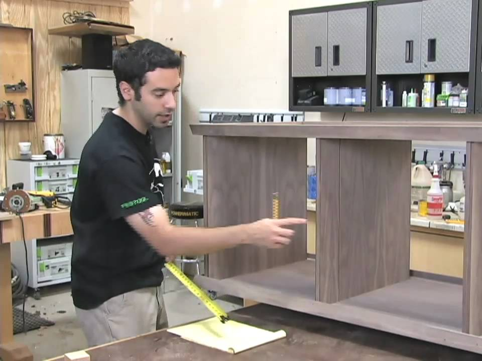 99 How To Build A Low Profile Entertainment Center Part 3 Of 5