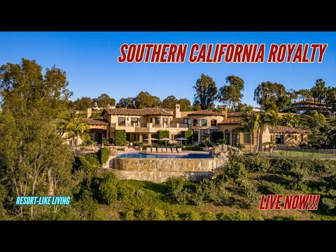 $20,000,000+ Californias MOST LUXURIOUS Million Dollar Mansions! (LIVE NOW!!!)