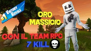 "VITTORIA REALE CON IL TEAM ""RPC"" [FORTNITE BATTLE ROYALE]"