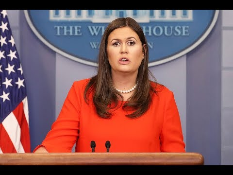 🔴 LIVE: White House Press Briefing with Sarah Sanders - 2/26/18