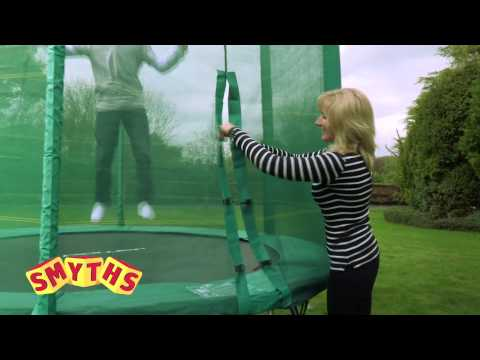 Smyths Toys - 10ft Trampoline And Enclosure