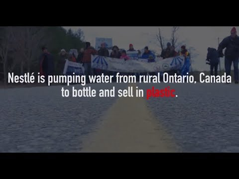Protect water: Boycott Nestlé | The Council of Canadians