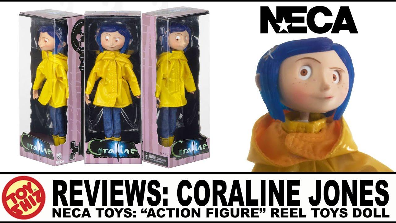 Toy Shiz Reviews Neca Toys Coraline Jones Action Figure Youtube