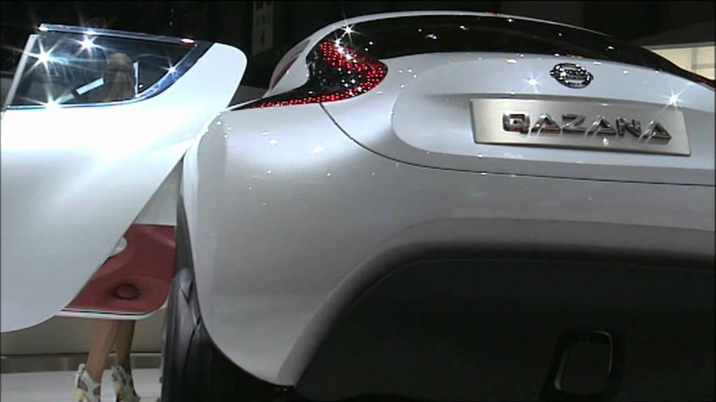 2009 Nissan Qazana Concept General Views Youtube