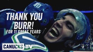 Alex Burrows In-Arena Tribute (Oct. 10, 2017)