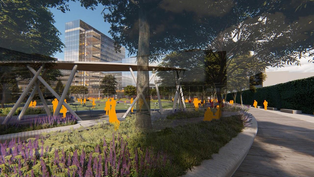 Corporate Campus Design - Fly Through