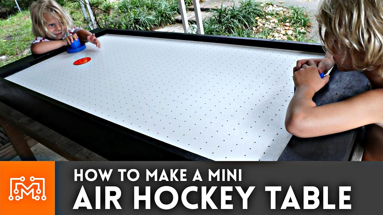 Mini Air Hockey Table // How To   YouTube
