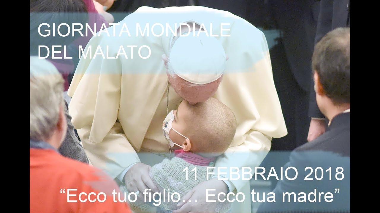 Il messaggio del papa per la giornata del malato 2018 il for Giornata mondiale del bacio 2018