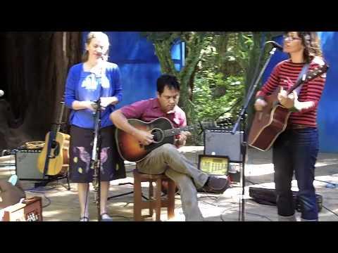 Frances England, Elizabeth Mitchell & Dan Littleton for Many Hands: Family Music for Haiti