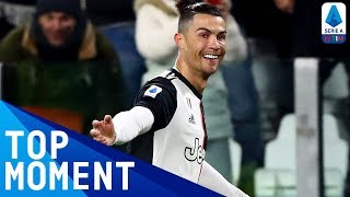 Ronaldo Opens the Scoring at the Juventus Stadium! | Juventus 2-1 Parma | Top Moment | Serie A TIM