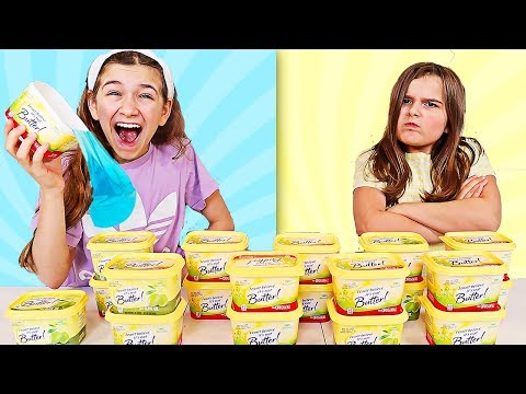 Dont Choose the Wrong Butter Slime Challenge!! | JKrew