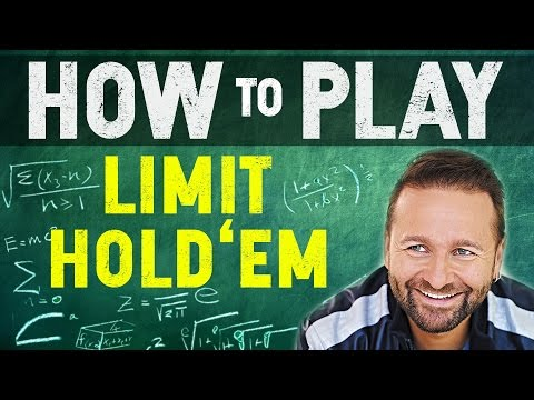 How to Play Limit Holdem