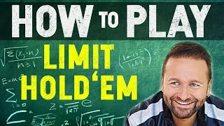 How to Play Limit Hold'em