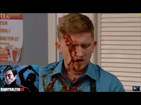 Coronation Street - Sinead Squirts Tomato Sauce At Chesney
