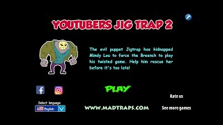 Jig Youtubers Mad Traps 2 FULL Walkthrough
