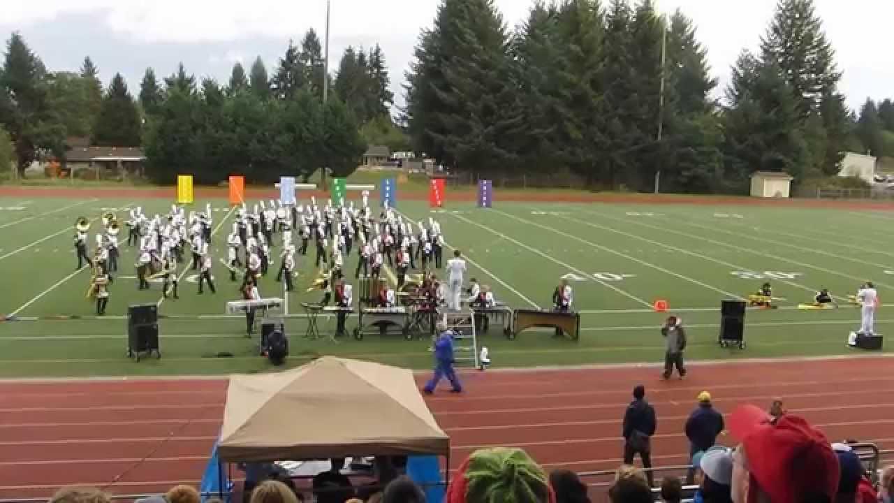 Black Hills High School Marching Band 2015
