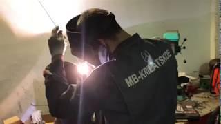 Ремонт дисків Мерседес в техцентрі ''МБ-Крилатське''
