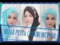 3 Tutorial Hijab Pesta Formal kondangan Mewah WOW BINGITS !!!