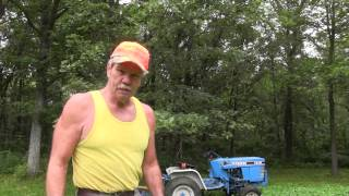 2015 Mowing Clover and Enhancing Trails with Don Mealey