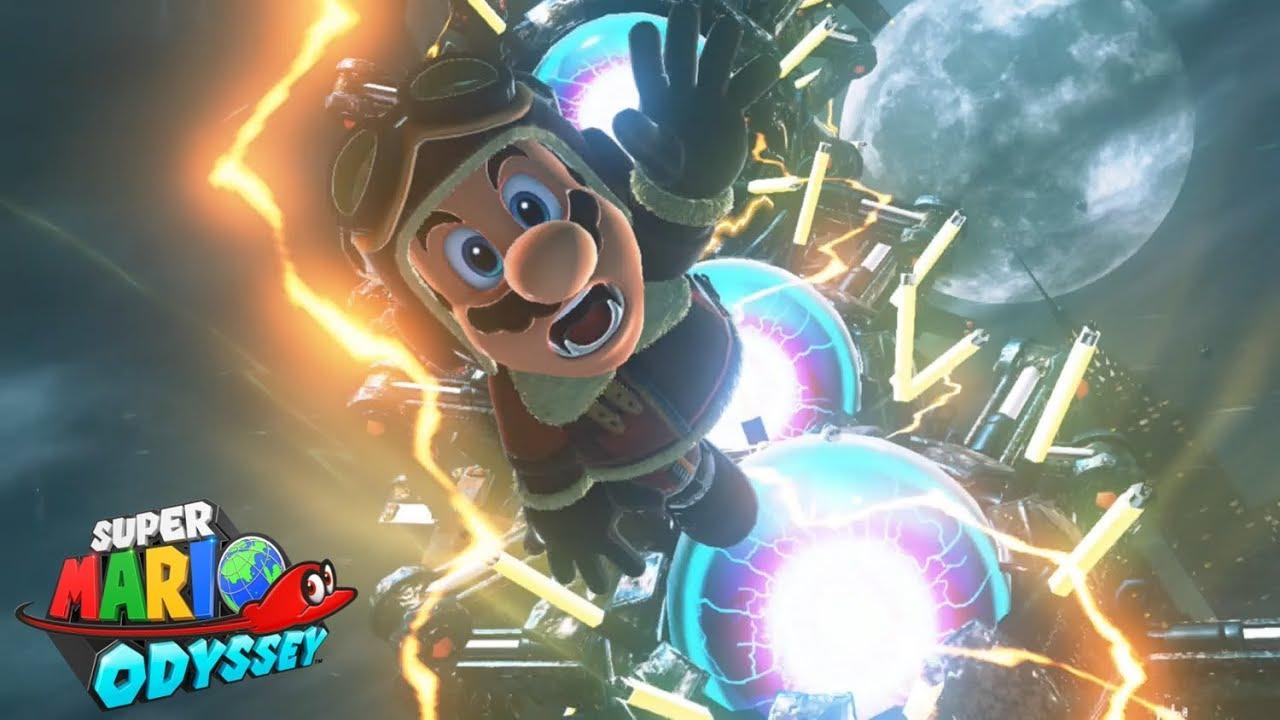 Super Mario Odyssey Part 12 Mecha Wiggler Youtube