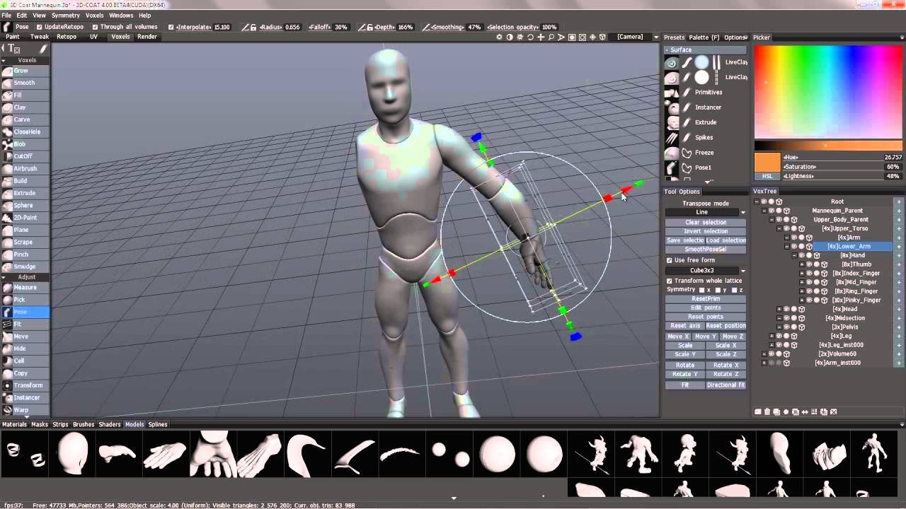 A Beginners Guide to Voxel Sculpting in 3DCoat - Lesterbanks