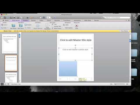 Technology Video - How to Make a PowerPoint Newsletter Template