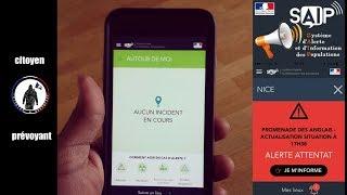 S A I P L'application mobile pour vous avertir des menaces en temps réel