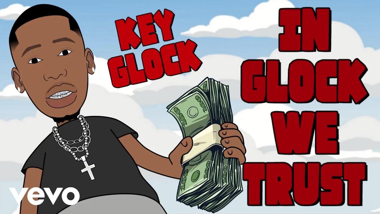 Key Glock - In GLOCK we trust (Visualizer)