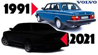 Volvo 240 Re-design - Challenge accepted